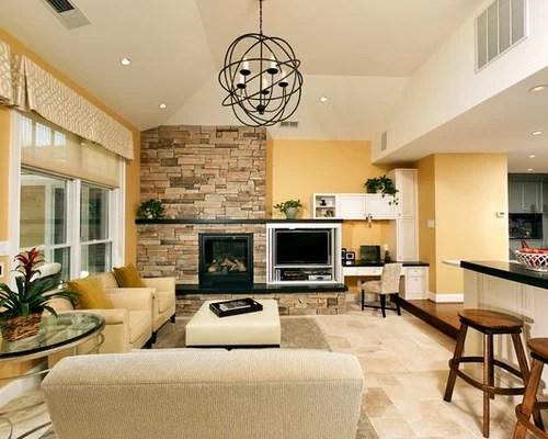 Modern Valance Houzz - modern valances for living room