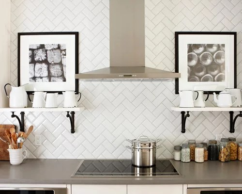 herringbone subway tile backsplash home design ideas pictures clear white laminated kitchen backsplash ideas design