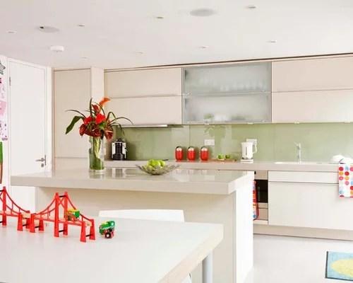 eat kitchen design photos green splashback beige small eat kitchen design ideas renovations photos