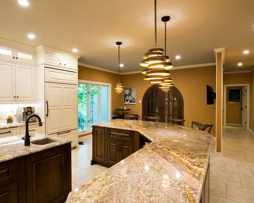 expansive transitional shaped eat kitchen rock transitional eat kitchen multiple islands design ideas