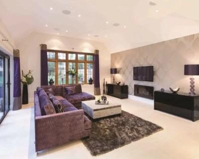 Living Room Wallpaper | Houzz