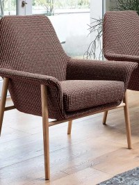 Contemporary, funky lounge armchairs
