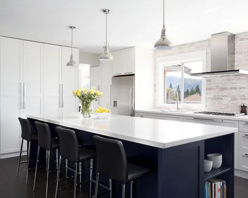 Custom Home Builders In Los Angeles Navy Blue Cabinets Home Design Ideas, Pictures, Remodel