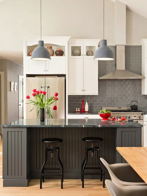 How To Get Power To Kitchen Island Grey Backsplash Ideas, Pictures, Remodel And Decor
