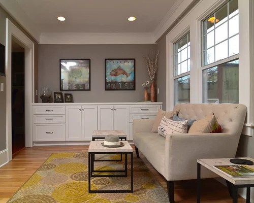 Meuble Tv Style Shabby Sherwin Williams Functional Gray | Houzz
