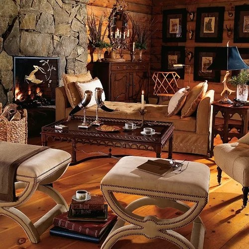 Hunting Theme Room Home Design Ideas, Pictures, Remodel