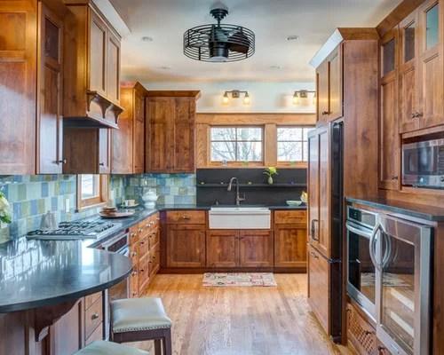premium kitchen design ideas renovations photos island inspiration small transitional single wall eat kitchen
