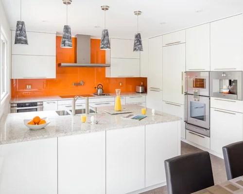 eat kitchen design photos orange splashback cork floors small eat kitchen design photos cork floors