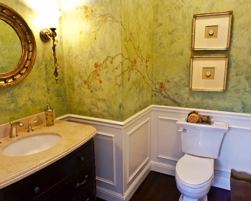 28 Chair Rail Bathroom Design Gallery