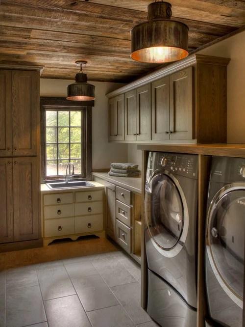 Rustic Laundry Room Design Ideas Remodels Photos