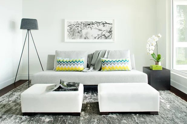 How to Design and Lay Out a Small Living Room - small scale living room furniture