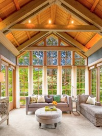Transitional Great Room Home Design Ideas, Pictures ...
