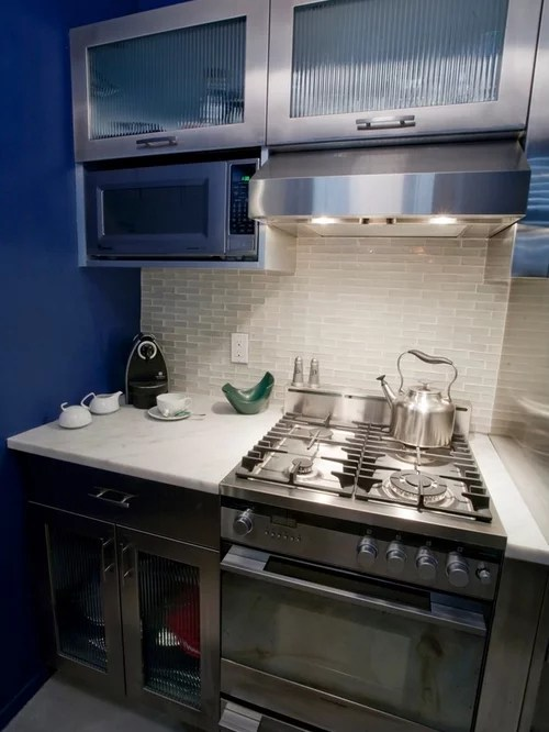small contemporary galley kitchen design ideas remodels photos small contemporary shaped eat kitchen idea moscow flat