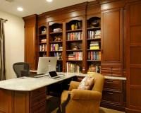 Custom Home Office   Houzz
