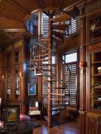 Spiral Stairs Home Design Ideas, Pictures, Remodel and Decor