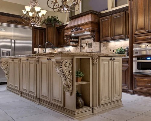 medium tone wood cabinets granite countertops zinc countertops kitchen color ideas cabinetry sets designs chic kitch eat kitchen