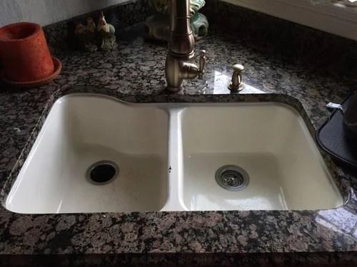 American Standard Silhouette Americast Kitchen Sink