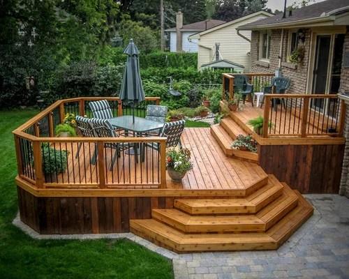 Multi-level Custom Deck Design in Peterborough home ideas