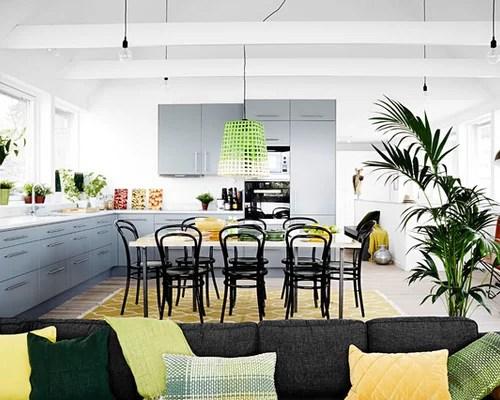 scandinavian open concept kitchen limestone countertops design scandinavian kitchen design ideas remodel pictures houzz