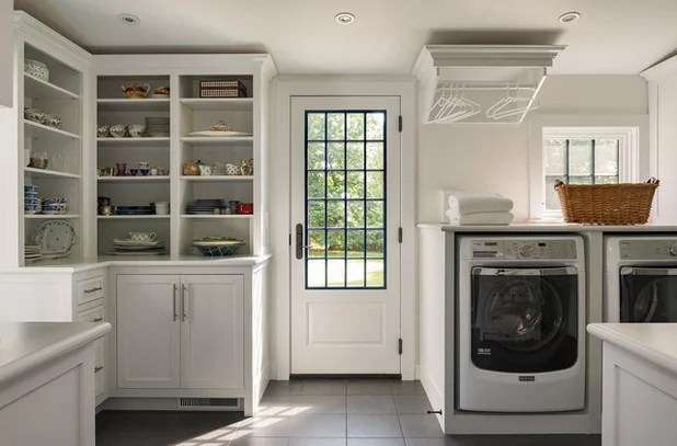 Trending Now The Top 10 New Laundry Rooms On Houzz
