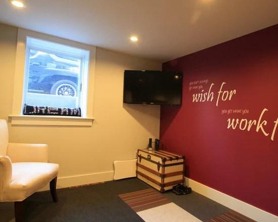 Awesome Home Yoga Studio Design Ideas Photos - Decorating Interior ...