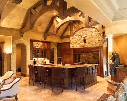 luxury french country kitchen design ideas remodels photos inspiration small transitional single wall eat kitchen