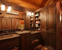 Small Log Cabin Bathrooms | Houzz