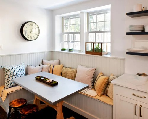 custom built breakfast nook home design ideas pictures remodel inspiration small transitional shaped kitchen remodel