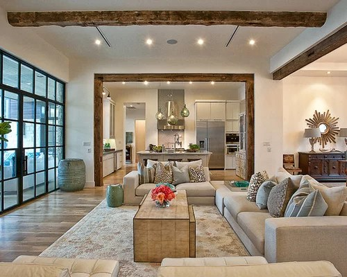 Open Concept Living Room Kitchen Ideas, Pictures, Remodel And Decor