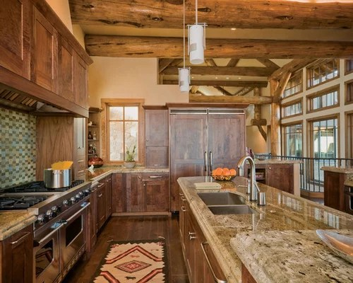 rustic kitchen design ideas remodels photos medium tone wood rustic kitchen design ideas remodel pictures houzz
