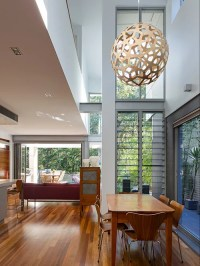 Houzz | Pendant Light In Void. Home Design Design Ideas ...