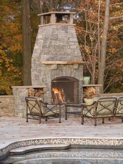 Outdoor Fireplace Chimney Cap Houzz