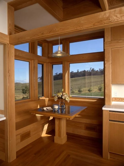 Kitchen Ideas Ranch Style House Built In Breakfast Nook | Houzz