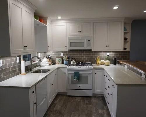 small traditional shaped eat kitchen philadelphia inspiration small transitional single wall eat kitchen