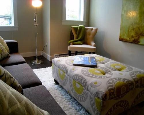 Living Room Ottoman Houzz - living room ottoman