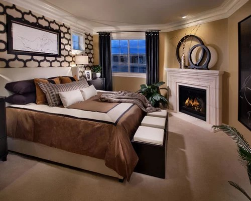 Denver Home Builders Bedroom Fireplace Home Design Ideas, Pictures, Remodel And