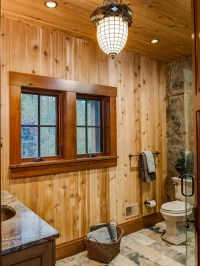 Dark Wood Window Trim | Houzz