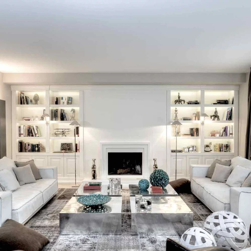 Houzz Salones White Without Time