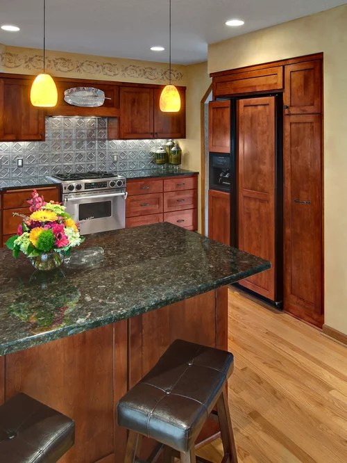 Design Kitchen Layout Cabinets Tin Backsplash Home Design Ideas, Pictures, Remodel And Decor