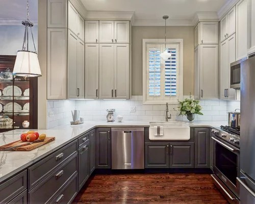 Our 50 Best Small U-Shaped Kitchen Ideas \ Remodeling Pictures Houzz - u shaped kitchen design