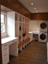 Modern Galley Laundry Room Design Ideas, Renovations & Photos