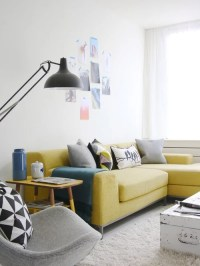 Yellow Couch Design Ideas & Remodel Pictures | Houzz