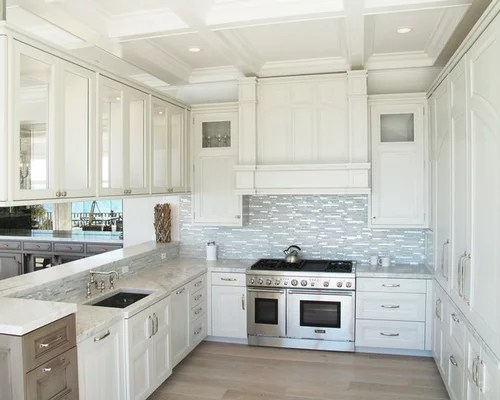 large transitional kitchen design ideas remodel pictures white inspiration small transitional single wall eat kitchen