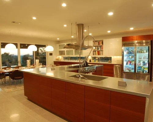 contemporary eat kitchen idea austin flat panel cabinets cool additional refrigerator drawers