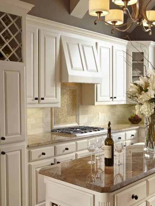 Modern U Shaped Kitchen With Island Marshmallow Cabinets Ideas, Pictures, Remodel And Decor