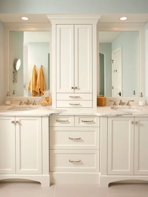 Cabinet Between Sink Home Design Ideas Pictures Remodel