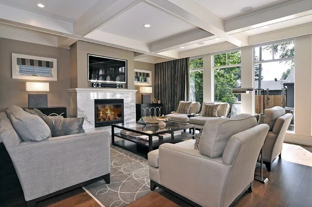 Whatu0027s Your Neutral Beige or Gray? - gray and beige living room