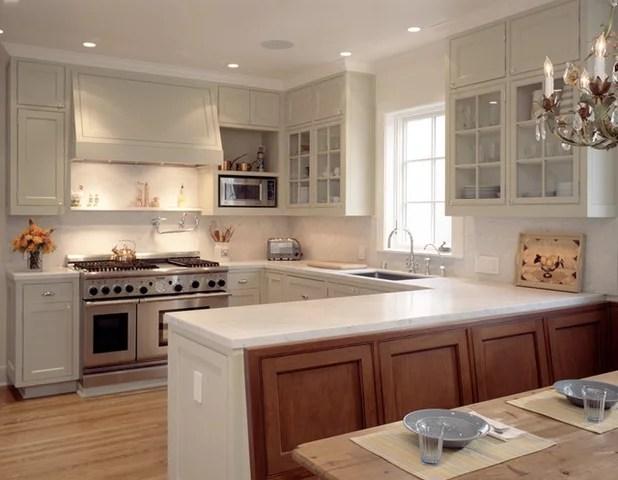 Kitchen Layouts Ideas for U-Shaped Kitchens - u shaped kitchen design
