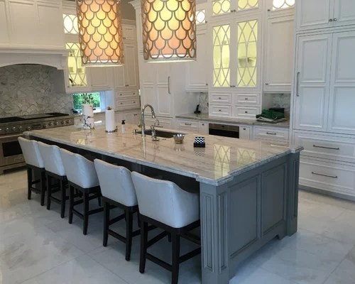 design ideas large transitional shaped eat kitchen miami inspiration small transitional shaped kitchen remodel