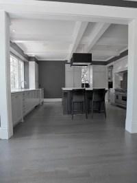 Gray Hardwood Floor | Houzz